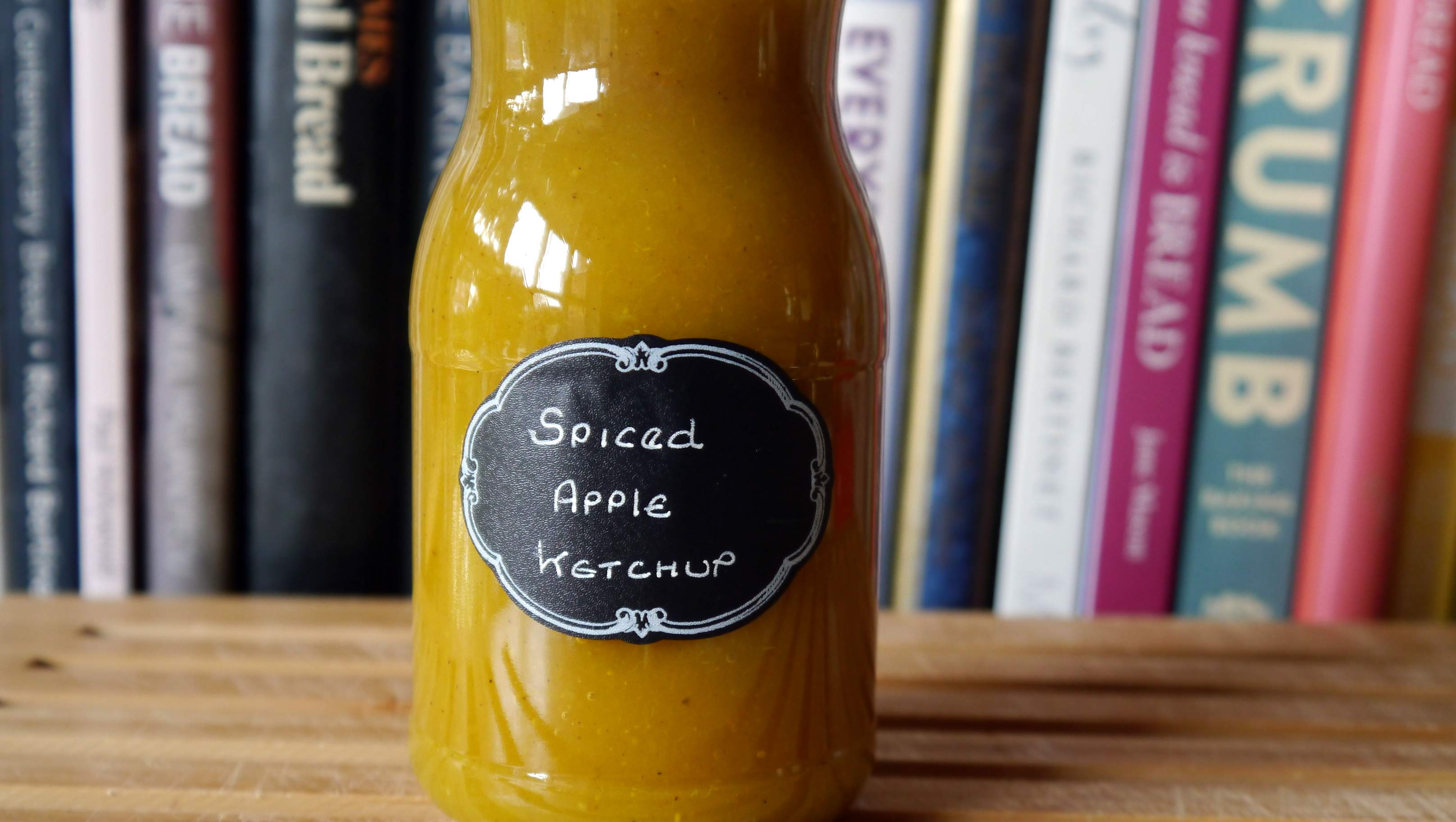Spiced Apple Ketchup