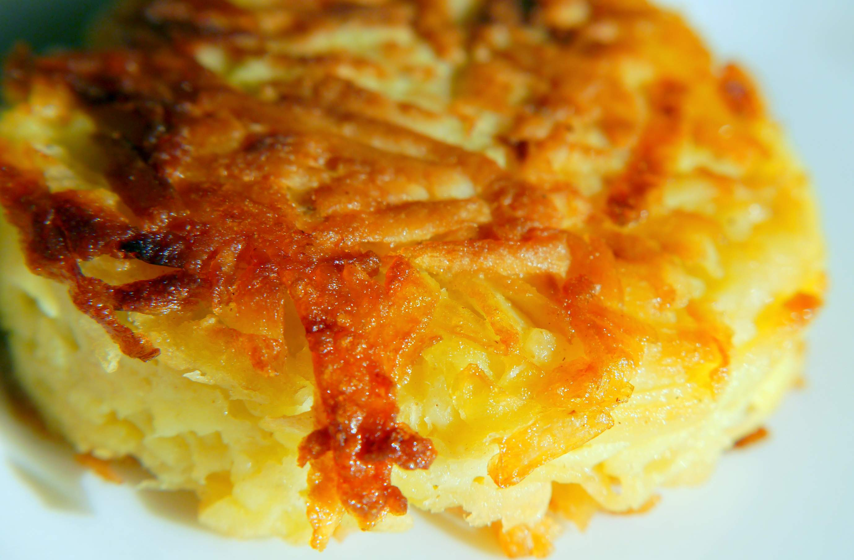 Potato and Onion Rosti | The Curious Vegetarian