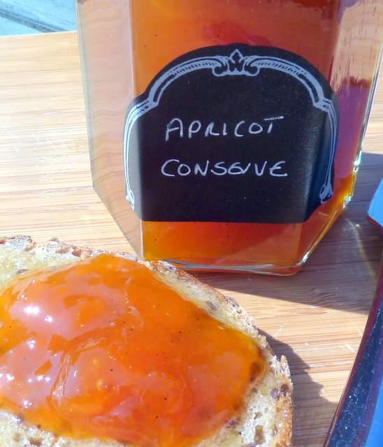 Apricot and Vanilla Conserve