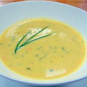 Creamed Sweetcorn Soup